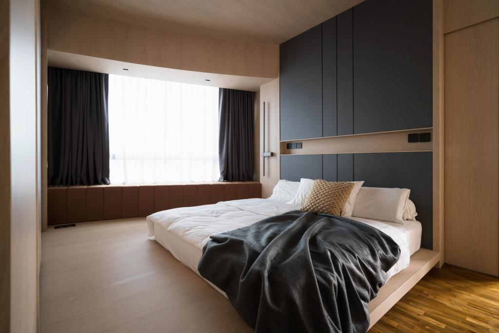 Contemporary, Condo, Bedroom, Clover By The Park, Interior Designer, KDOT