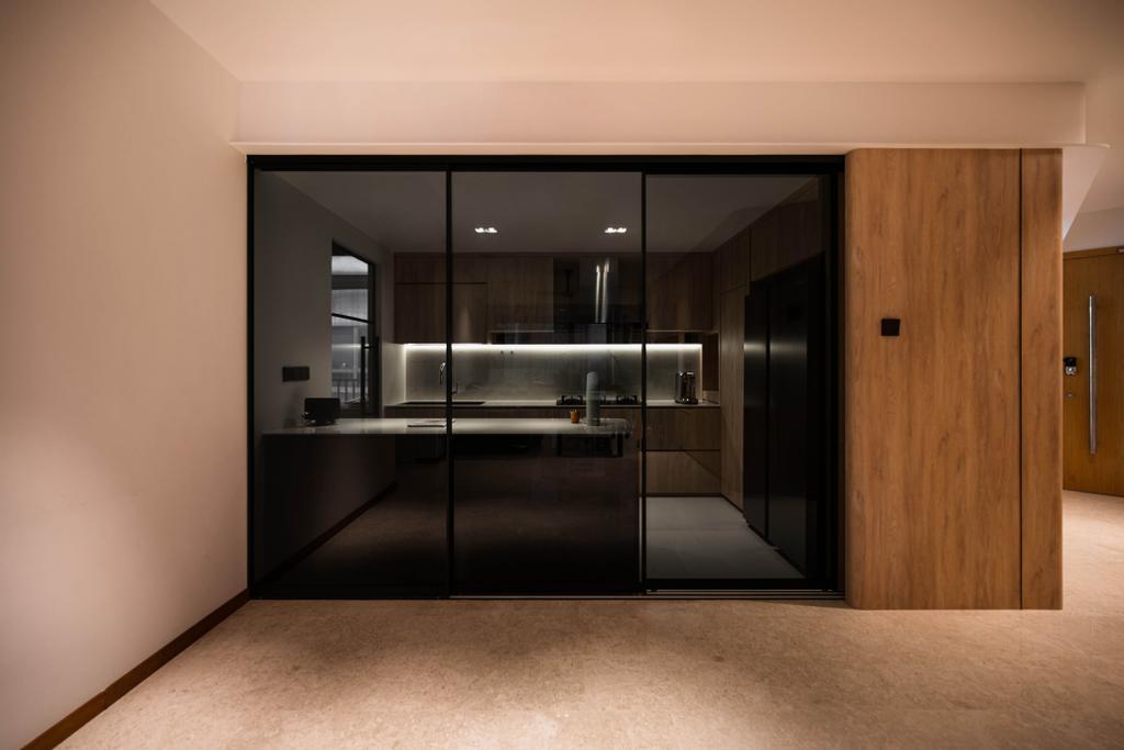 Contemporary, Condo, Kitchen, Clover By The Park, Interior Designer, KDOT