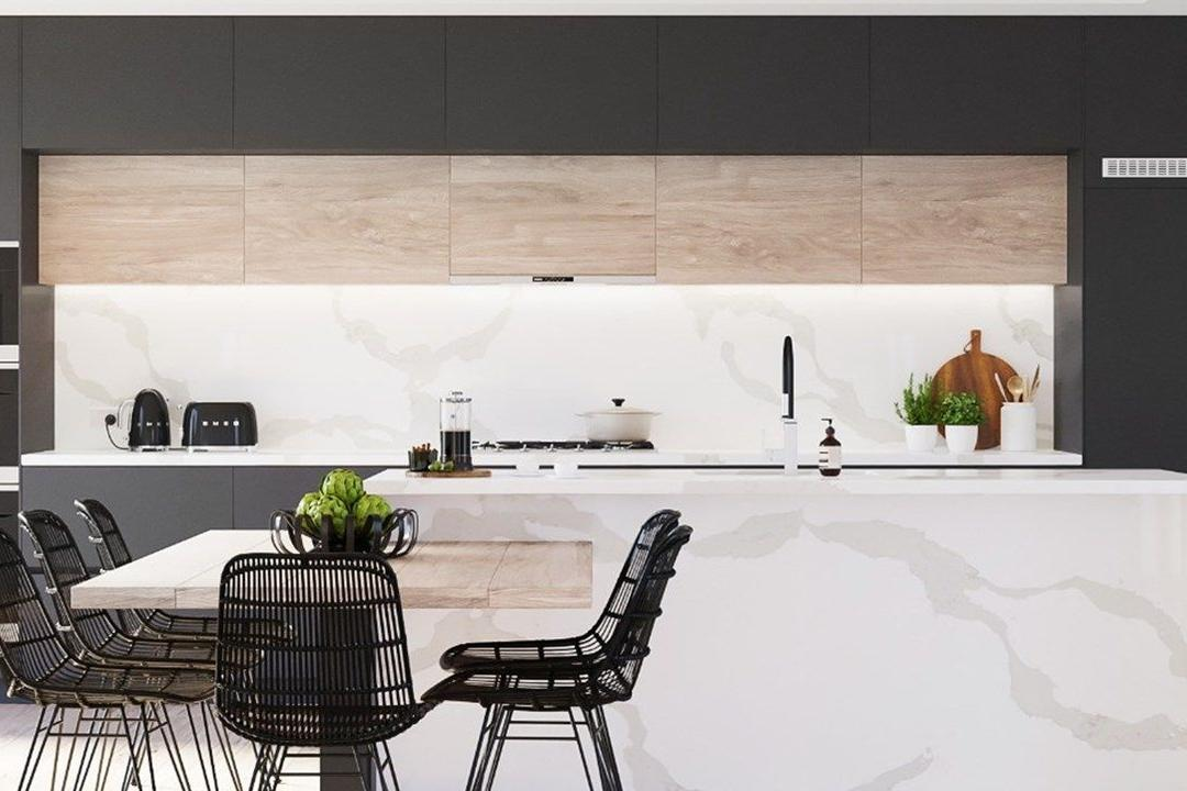'White Marble' Kitchen Countertops: Get the Look for Less 1