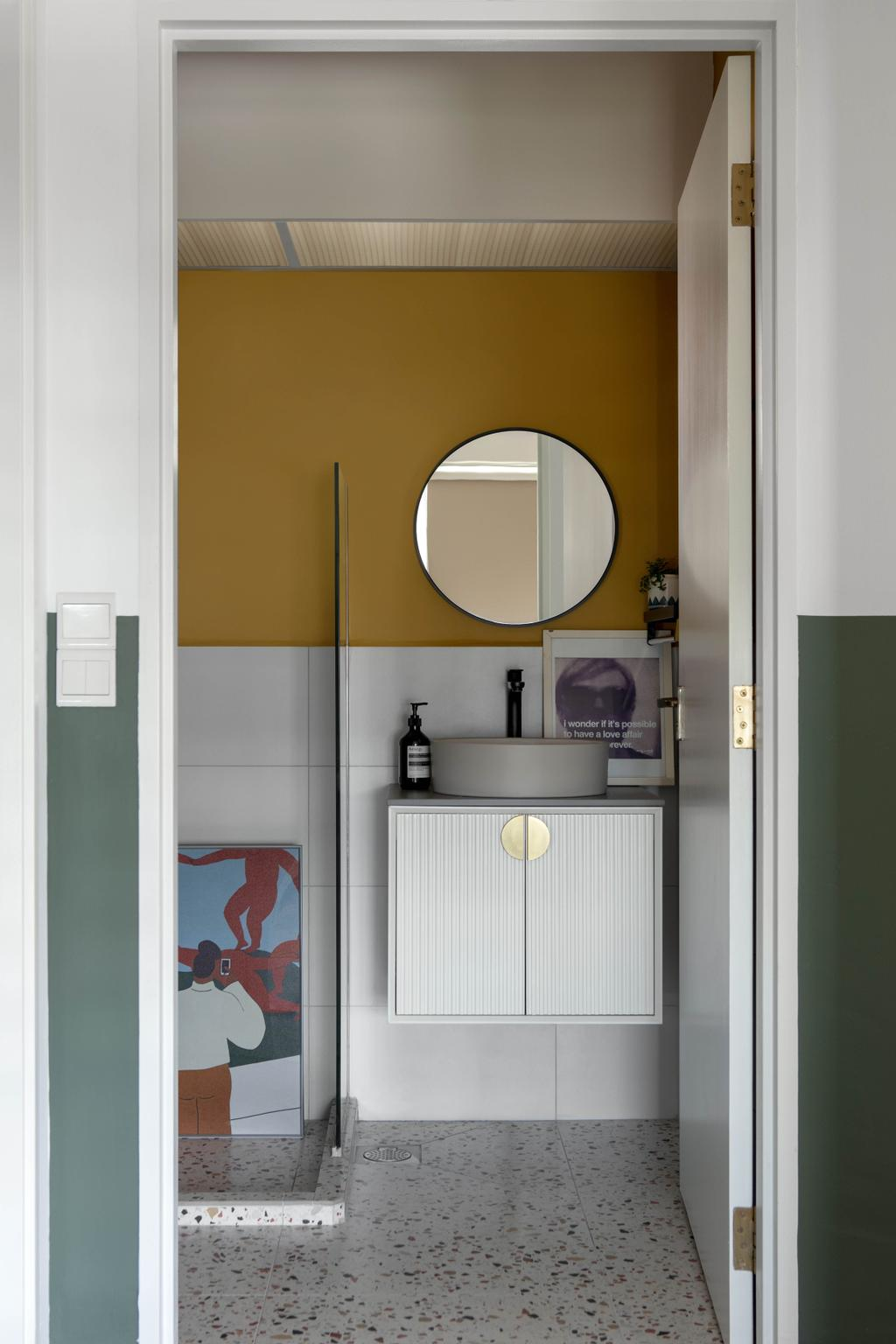 Eclectic, HDB, Bathroom, Punggol Drive, Interior Designer, Ascend Design