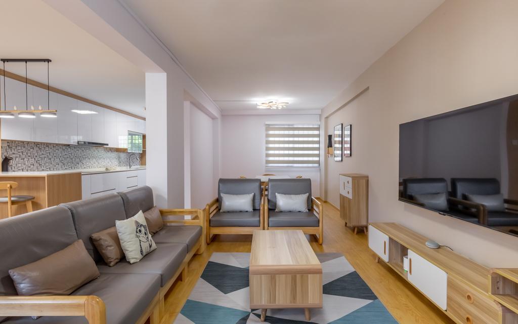 Scandinavian, HDB, Living Room, Woodlands Street 13, Interior Designer, Des & Co Interior