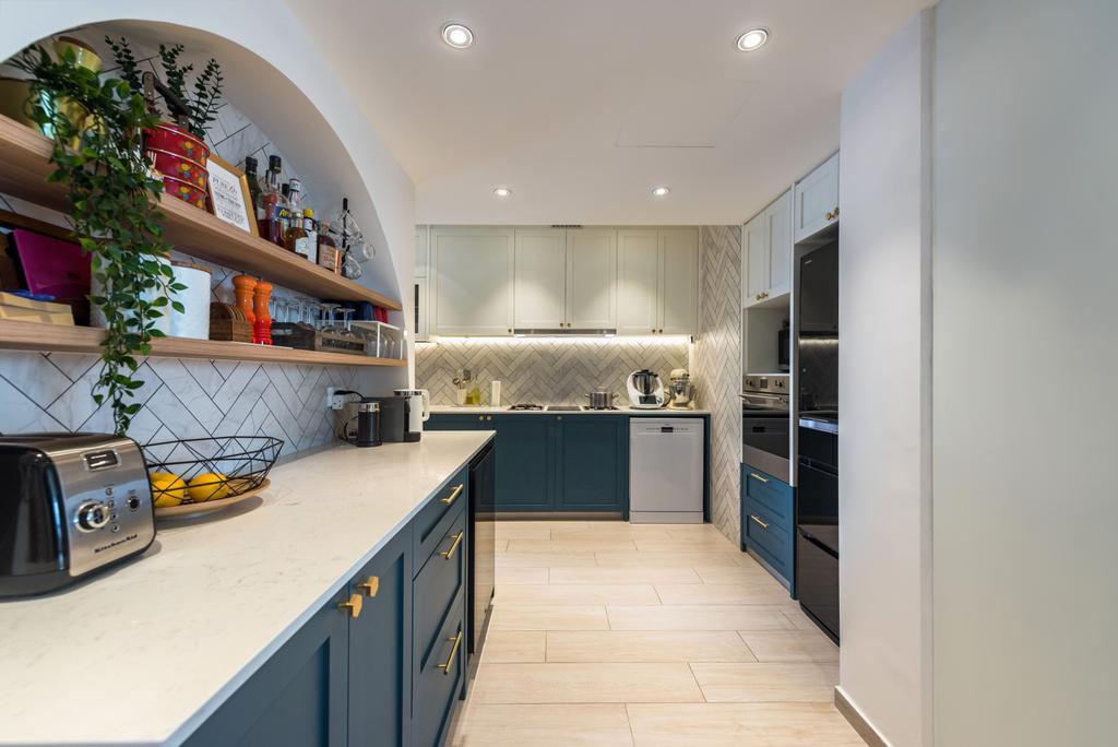 Contemporary, Condo, Kitchen, Santa Fe Mansions, Interior Designer, Archive Design