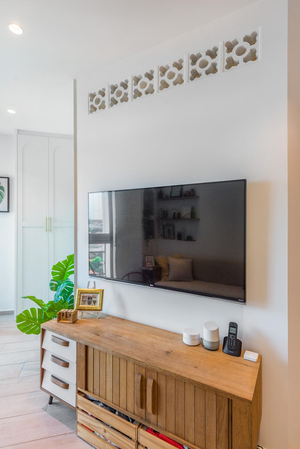 Contemporary, Condo, Living Room, Santa Fe Mansions, Interior Designer, Archive Design