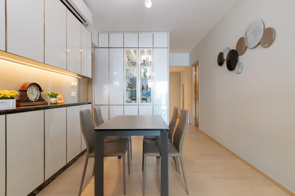 摩登, 私家樓, 日出康城 6 (Lohas Park 6), 室內設計師, 現時設計, 當代