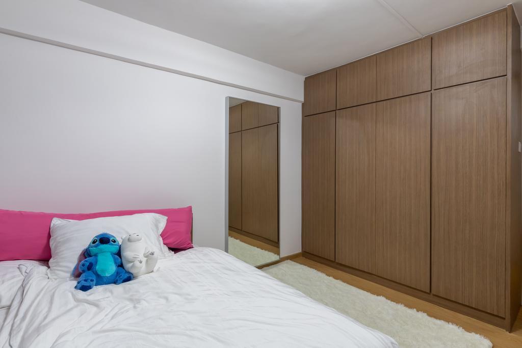 Transitional, HDB, Bedroom, Pandan Gardens, Interior Designer, ShiCheng Interior Design, Contemporary