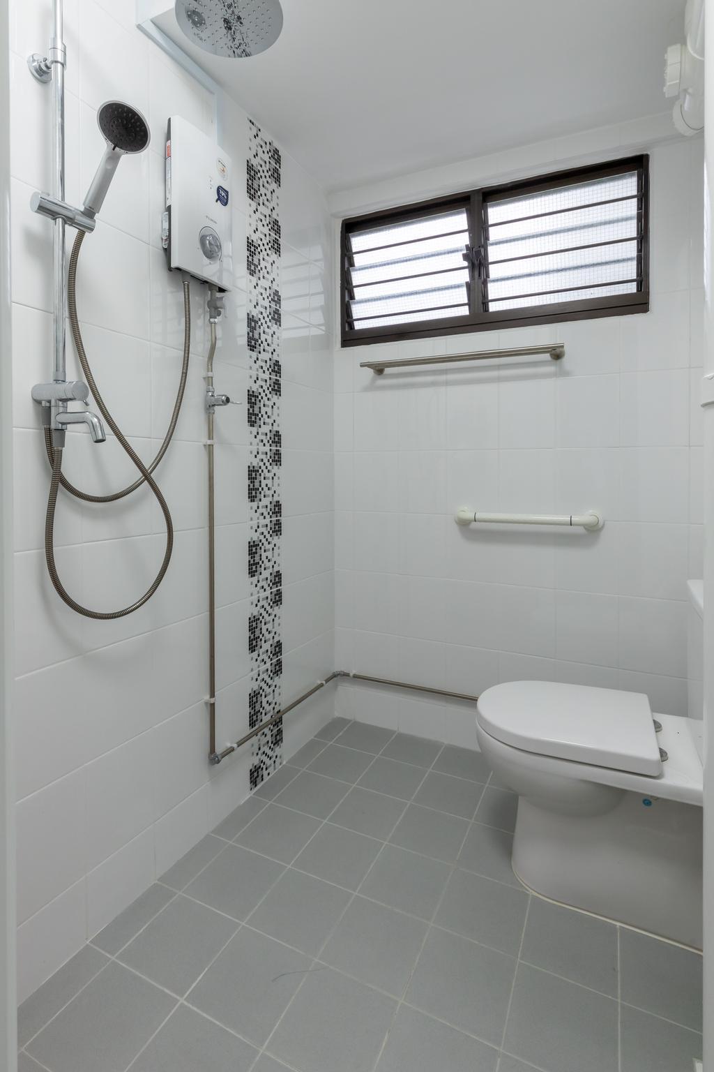 Transitional, HDB, Bathroom, Pandan Gardens, Interior Designer, ShiCheng Interior Design, Contemporary