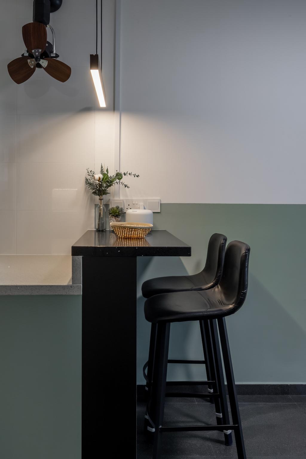 Contemporary, HDB, Dining Room, Tampines Street 61, Interior Designer, Le Interior Affairs