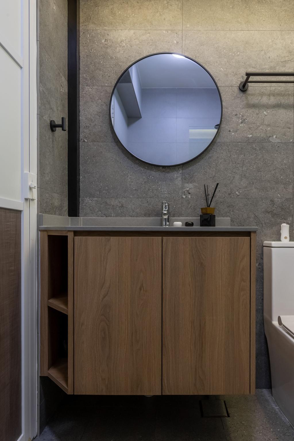 Contemporary, HDB, Bathroom, Tampines Street 61, Interior Designer, Le Interior Affairs