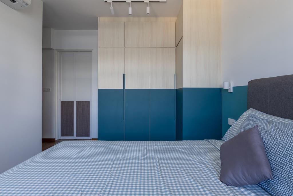 Contemporary, HDB, Bedroom, Tampines Street 61, Interior Designer, Le Interior Affairs