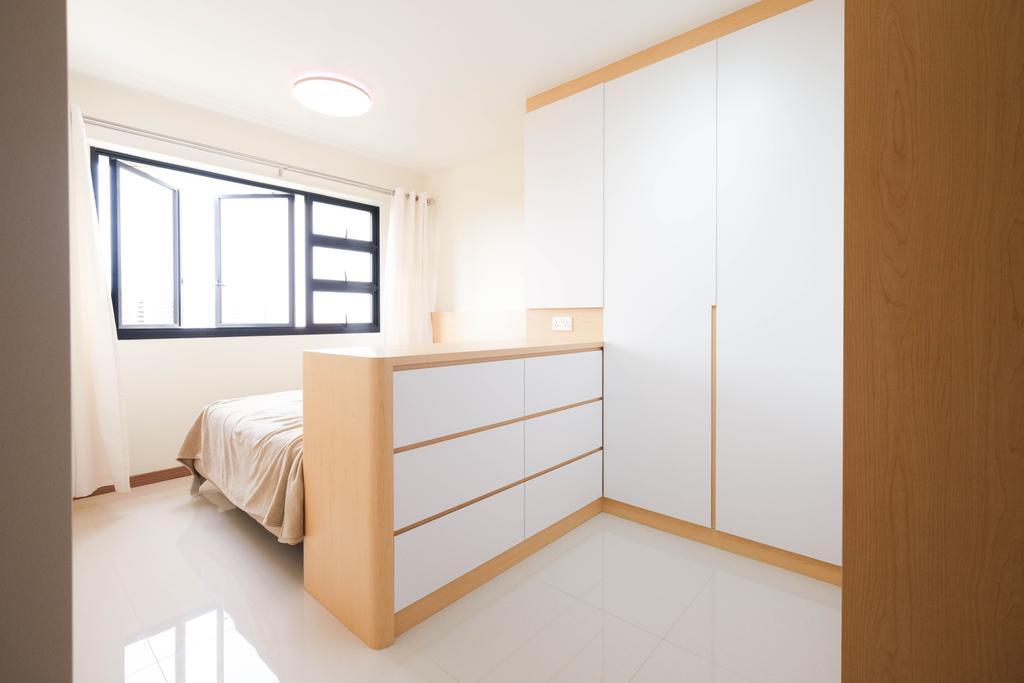 Scandinavian, HDB, Bedroom, Bukit Batok West Avenue 9, Interior Designer, Starry Homestead