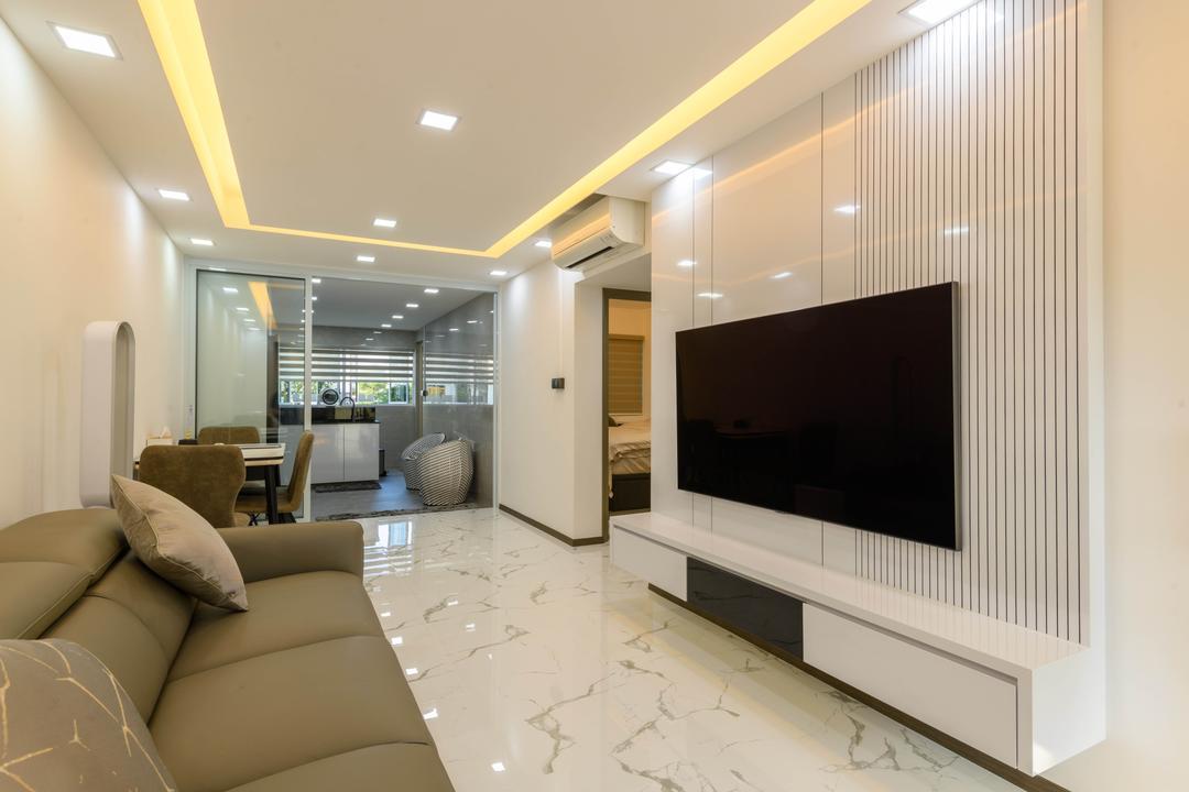 Ang Mo Kio Avenue 10 Living Room Interior Design 1