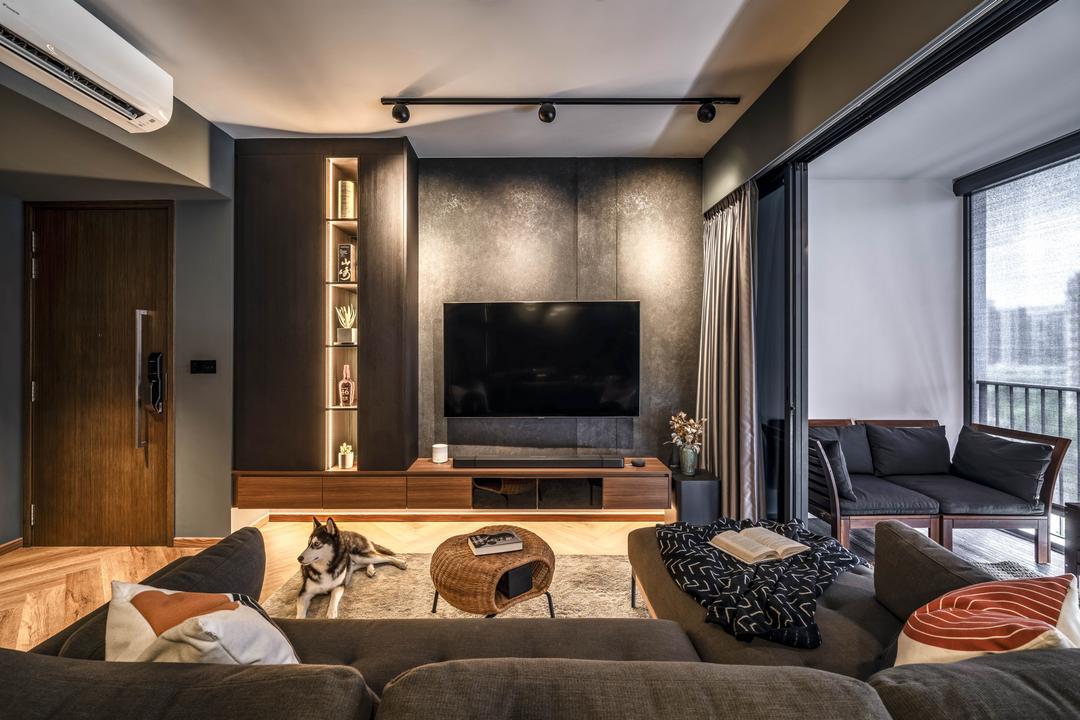 Waterbay Living Room Interior Design 4