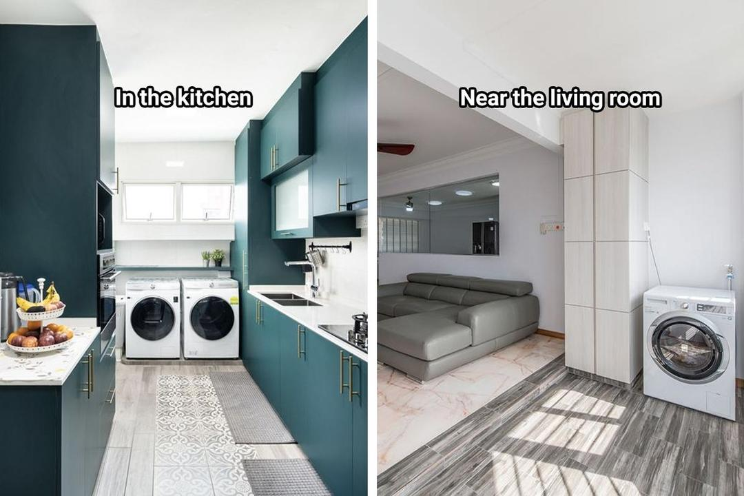5 Spots Where You Can Place Your Washing Machine at Home 11