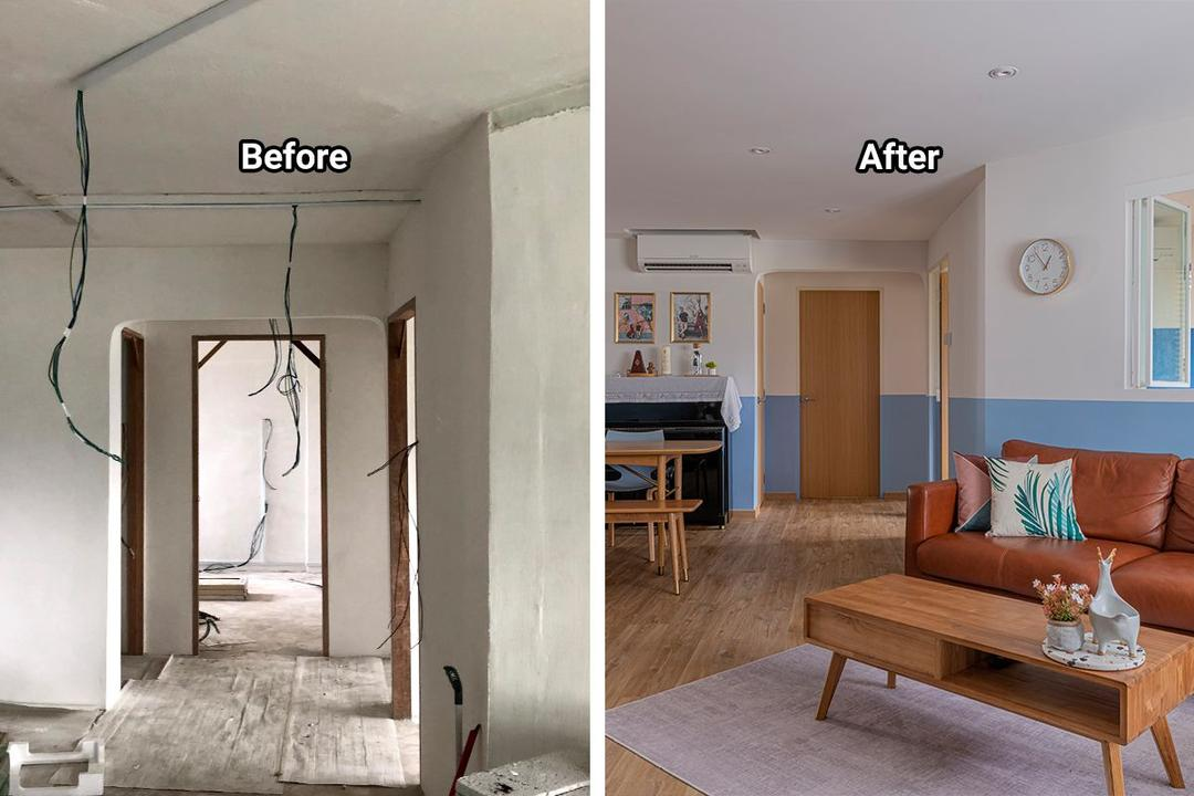 From Drab to Fab: A Quirky Potong Pasir HDB Flat's Makeover