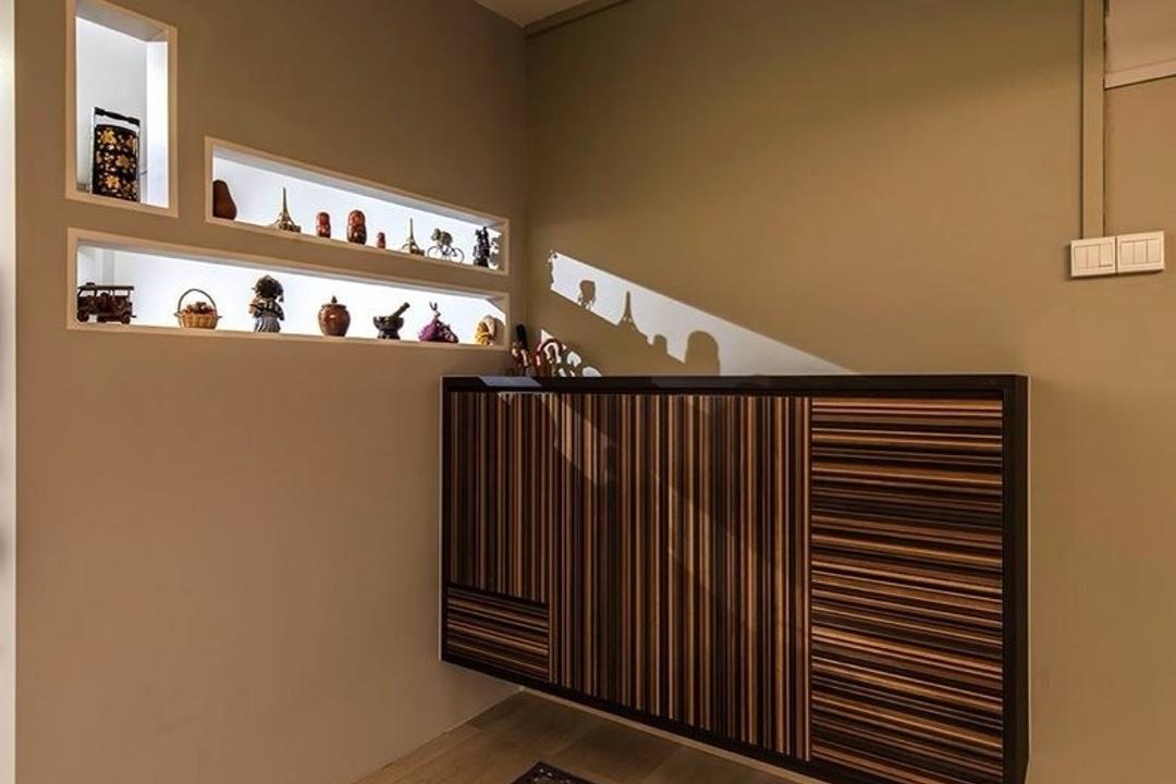 Jurong East Street 32, Ace Space Design, Industrial, HDB, Shoe Case, Shoe Cabinet, Enterance, Partition