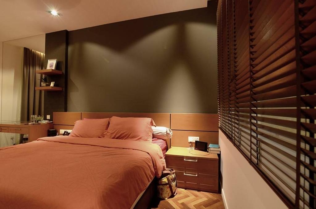 Contemporary, Landed, Bedroom, Seri Tanjung Pinang, Interior Designer, Grazioso Design, Indoors, Room, Interior Design