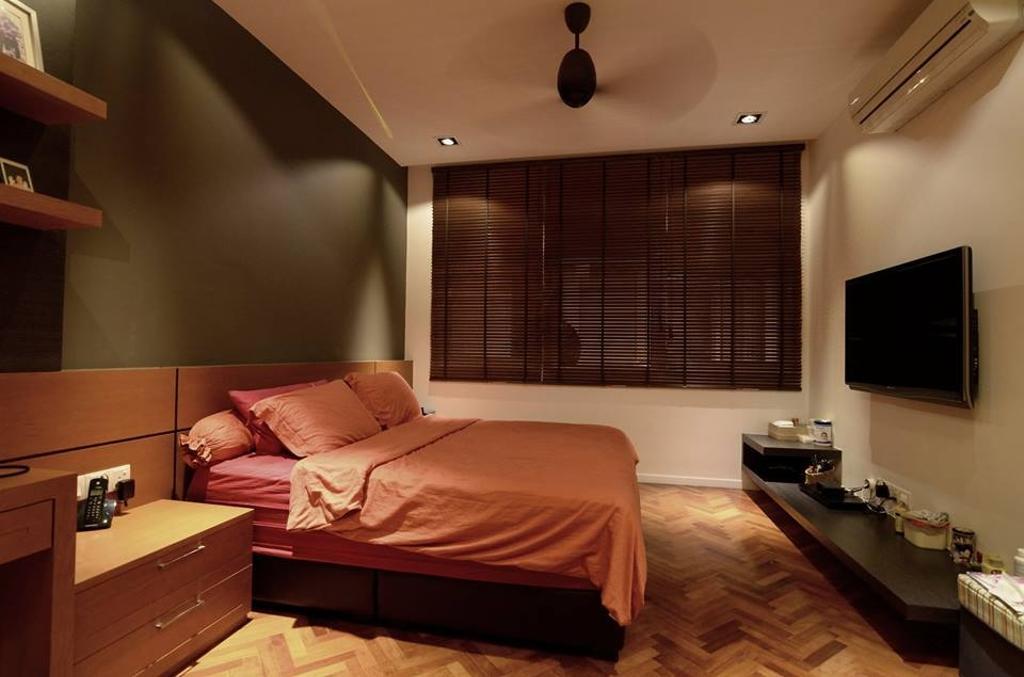 Contemporary, Landed, Bedroom, Seri Tanjung Pinang, Interior Designer, Grazioso Design