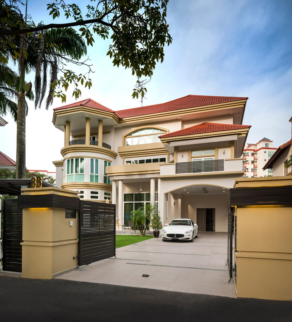 Modern, Landed, Pinewood Grove, Interior Designer, Ciseern, Bungalow, Building, House, Housing, Villa