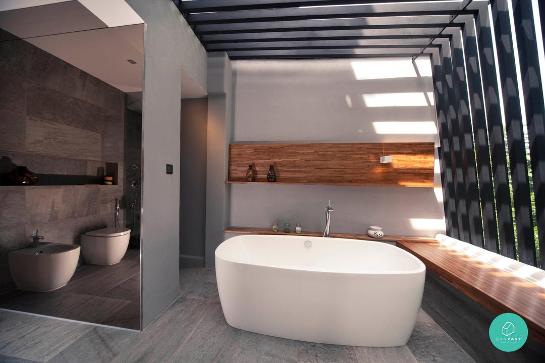 Project File - Swiss View - Outdoor Toilet with Bathtub
