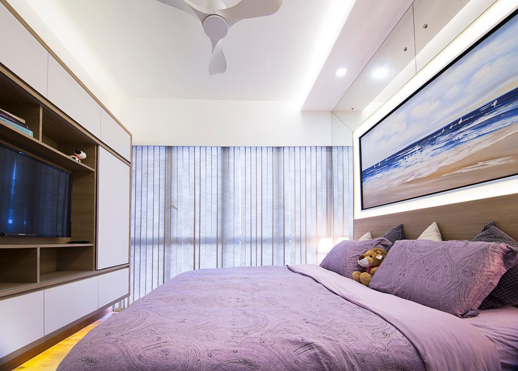 Traditional, Condo, Bedroom, Seastrand, Interior Designer, Schemacraft, Indoors, Interior Design, Room