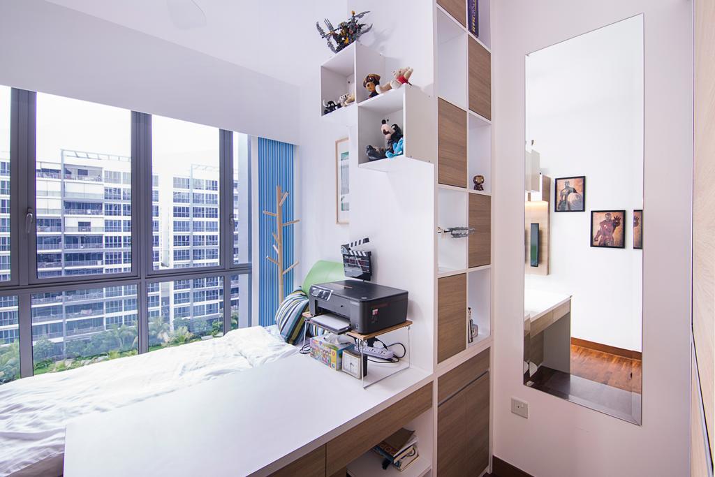 Traditional, Condo, Bedroom, Seastrand, Interior Designer, Schemacraft