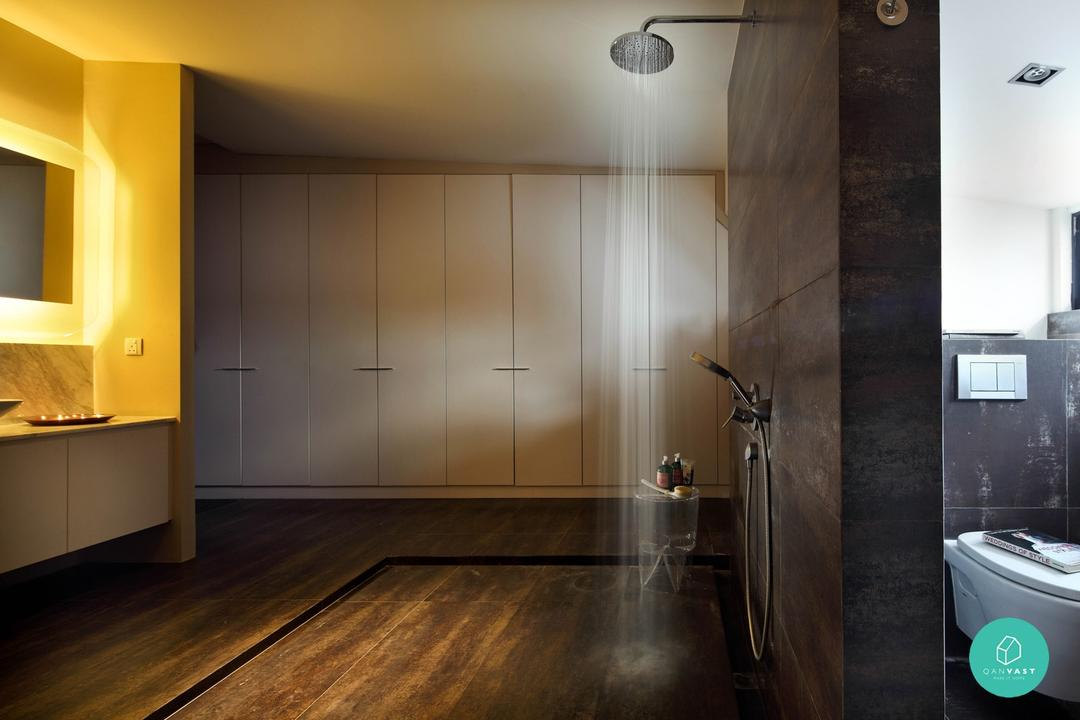 Museworks - Metropole - Toilet with Rain Shower