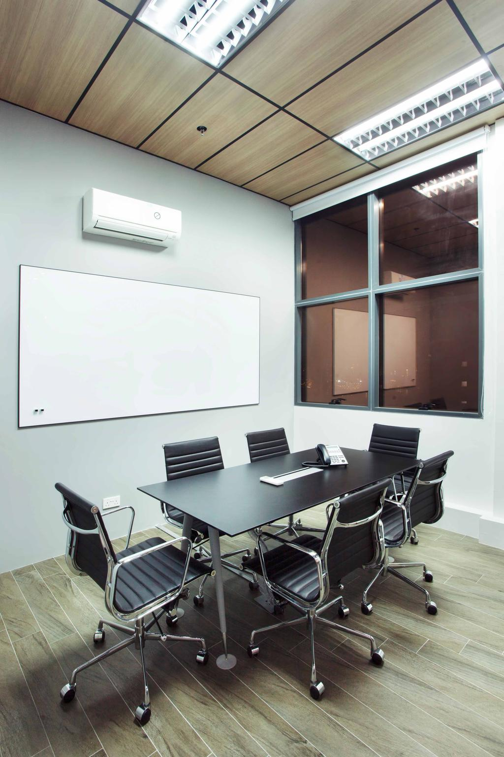 CT Hub 2 Office, Commercial, Interior Designer, Project Guru, Industrial, Eclectic, Conference Room, Indoors, Meeting Room, Room, Dining Table, Furniture, Table