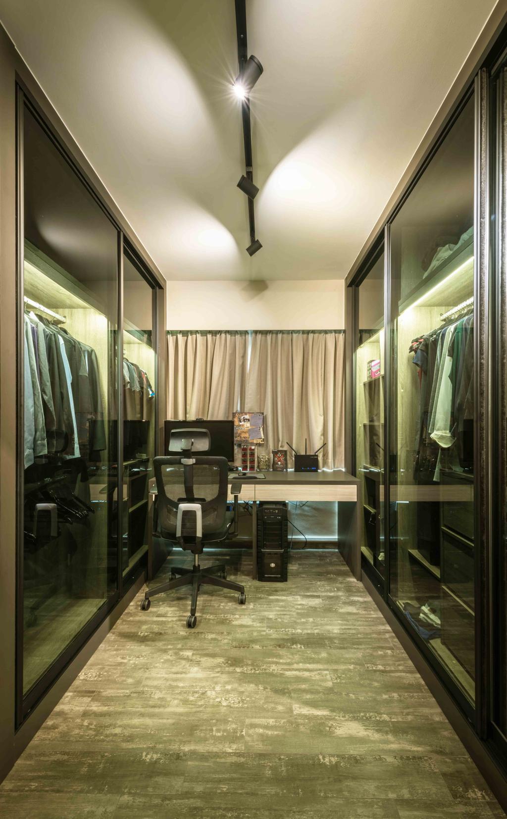 Traditional, HDB, Bedroom, Chai Chee (Block 808C), Interior Designer, Cozy Ideas Interior Design, Modern, Chair, Furniture, Brewery, Building, Factory