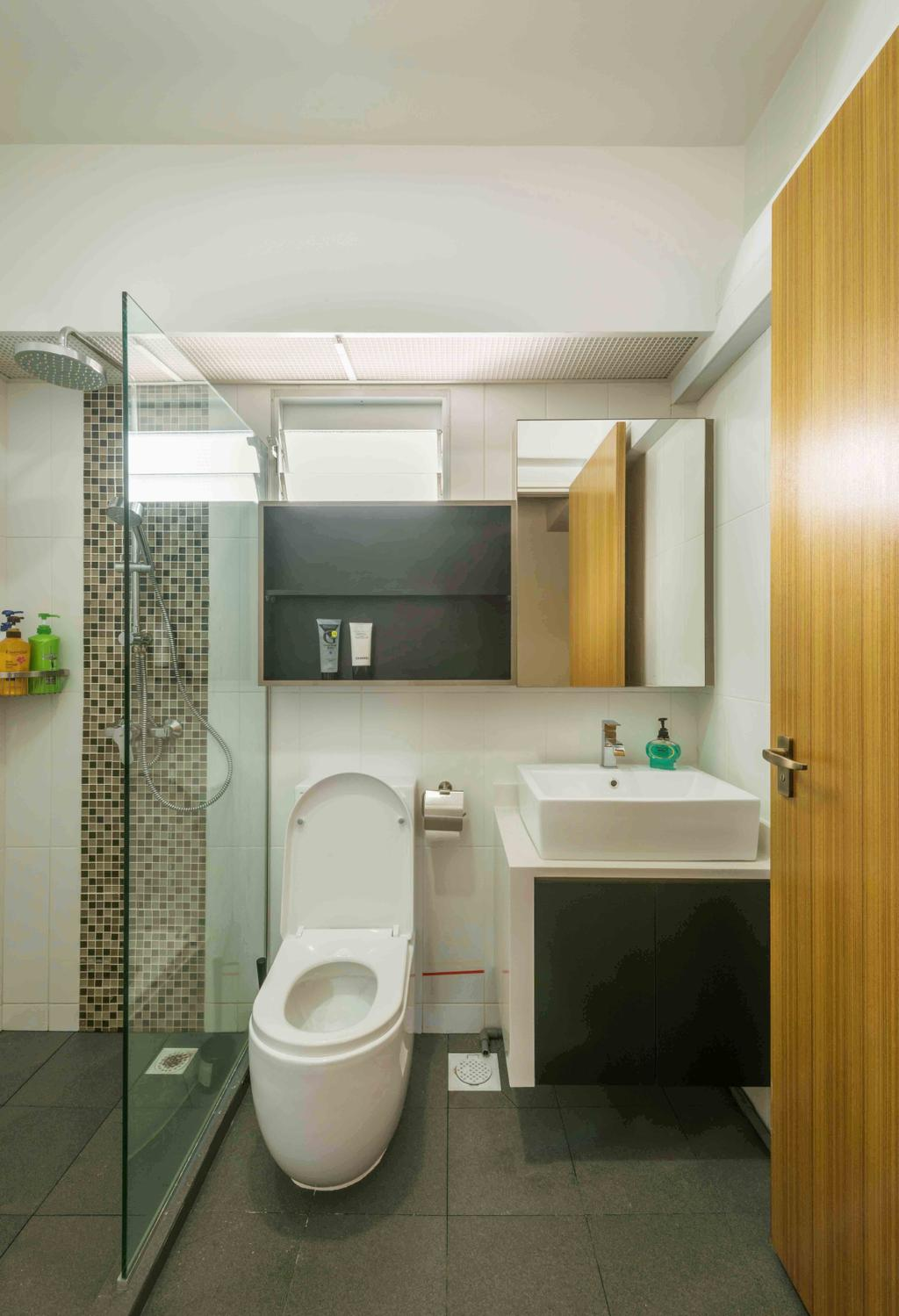 Traditional, HDB, Bathroom, Tampines (Block 524A), Interior Designer, Cozy Ideas Interior Design, Indoors, Interior Design, Room