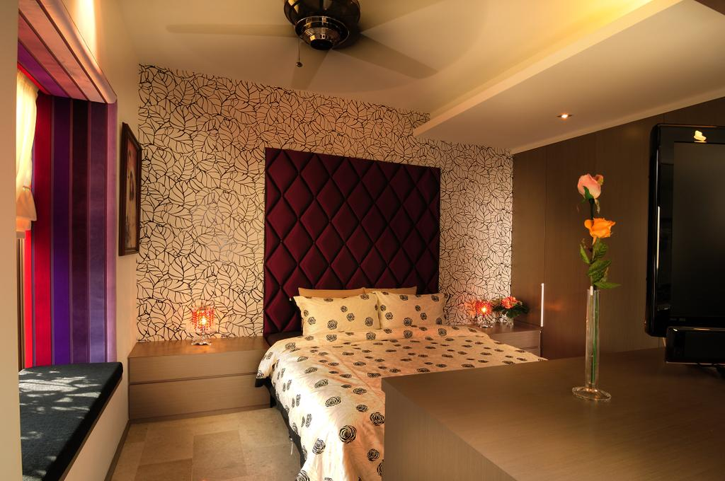 Modern, Landed, Bedroom, Burghley Drive, Interior Designer, U-Home Interior Design, Indoors, Interior Design, Room