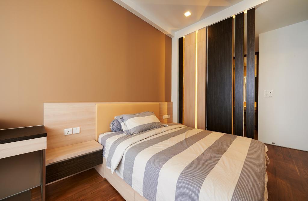 Modern, Landed, Bedroom, Goodman Road, Interior Designer, U-Home Interior Design, Bed, Furniture, Indoors, Room