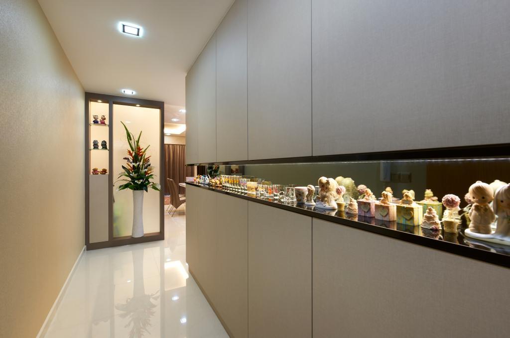Modern, Condo, Living Room, Oasis Garden, Interior Designer, U-Home Interior Design