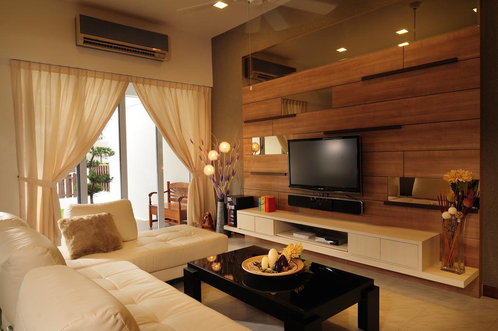 Traditional, Landed, Living Room, Parry Walk, Interior Designer, U-Home Interior Design, Electronics, Entertainment Center, Indoors, Interior Design, Room
