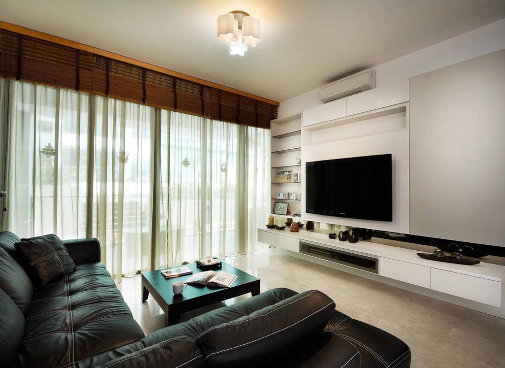 Contemporary, Condo, Living Room, The Sixth Avenue, Interior Designer, U-Home Interior Design, Couch, Furniture, Indoors, Room