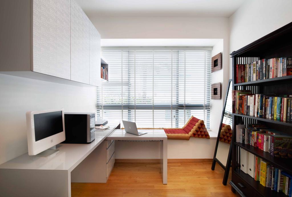 Contemporary, Condo, The Sixth Avenue, Interior Designer, U-Home Interior Design, Indoors, Interior Design, Bookcase, Furniture, Shelf