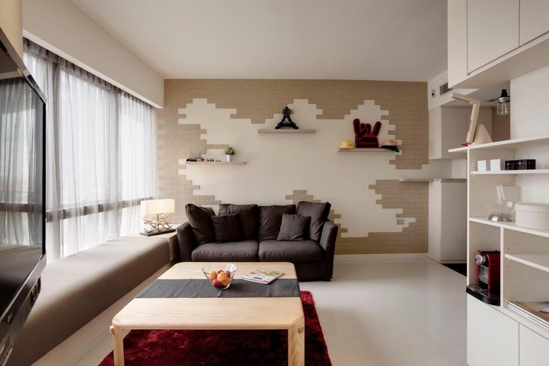 One Shenton Living Room Interior Design 2