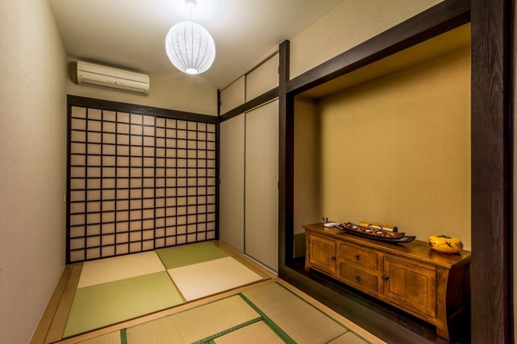 Contemporary, Condo, Bedroom, The Trizon, Interior Designer, Fineline Design, Zen, Zenn Sliding Door, Tatami, Tatami Cushion, Appliance, Electrical Device, Oven