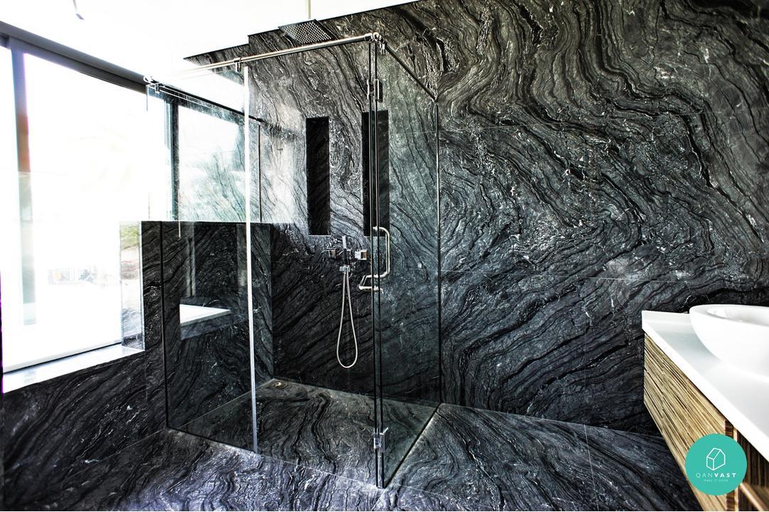 Fuse Alliance - Jalan Kelulut - Bathroom Marble Floor and Sink