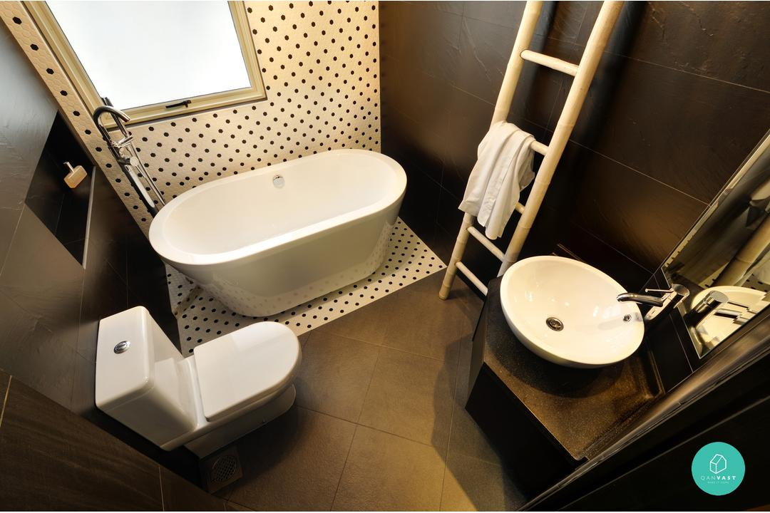 DHOME Studio - Perry Court - Polka Dots Bathroom