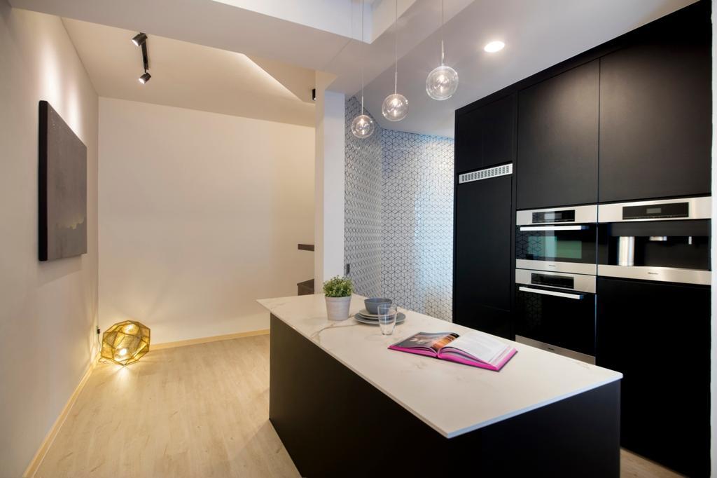 Contemporary, Condo, Kitchen, Mariam Way, Interior Designer, Hue Concept Interior Design, Indoors, Interior Design