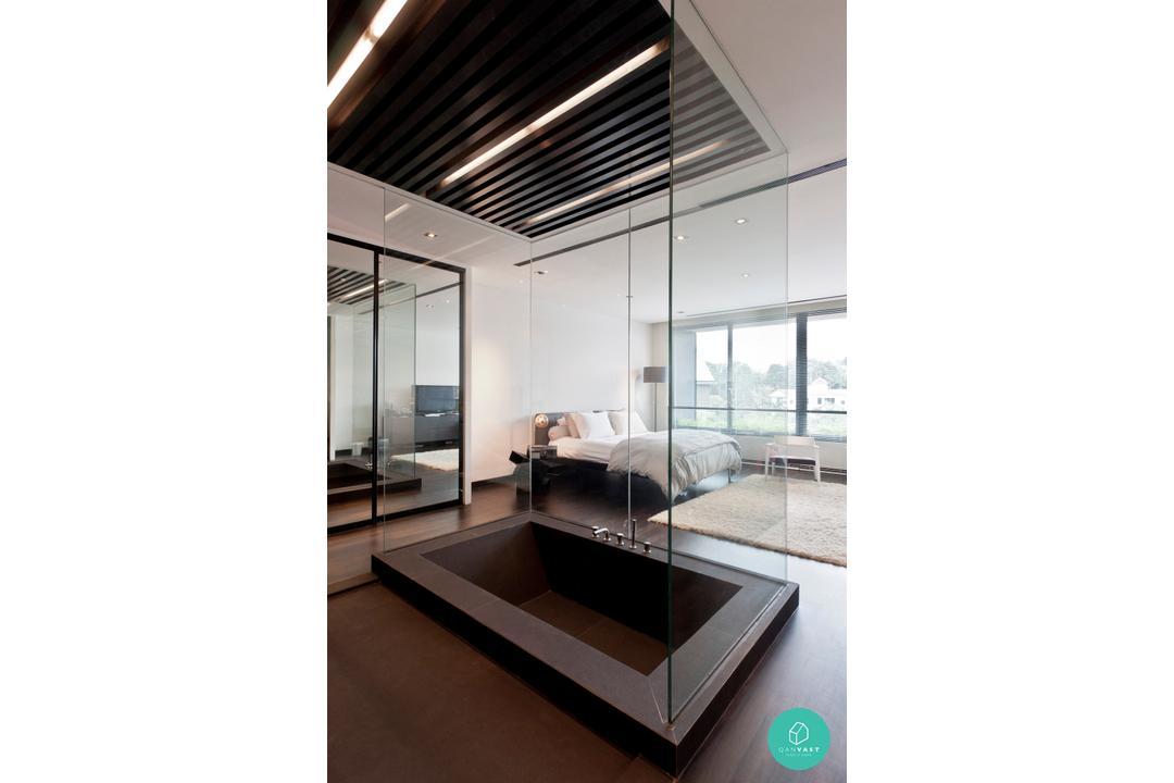 Architology Interiors - Jalan Chempedak - Glass Case Shower