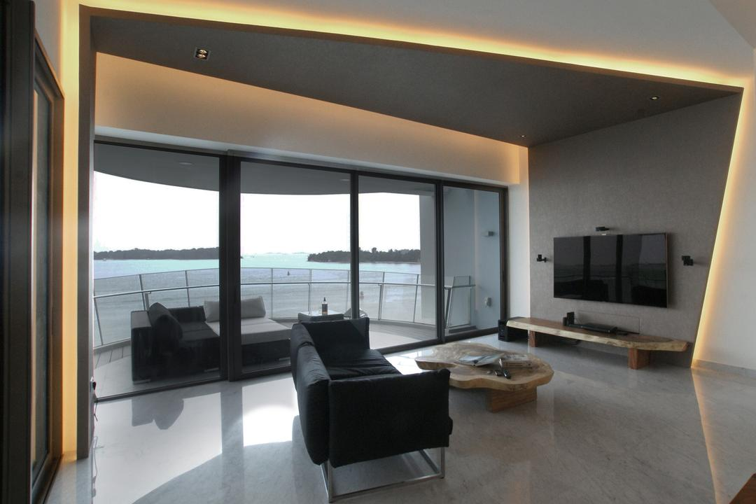 Seascape Living Room Interior Design 3