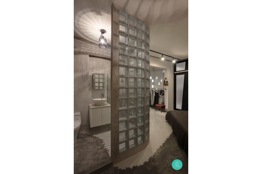 The Design Practice - Tampines - Industrial Toilet