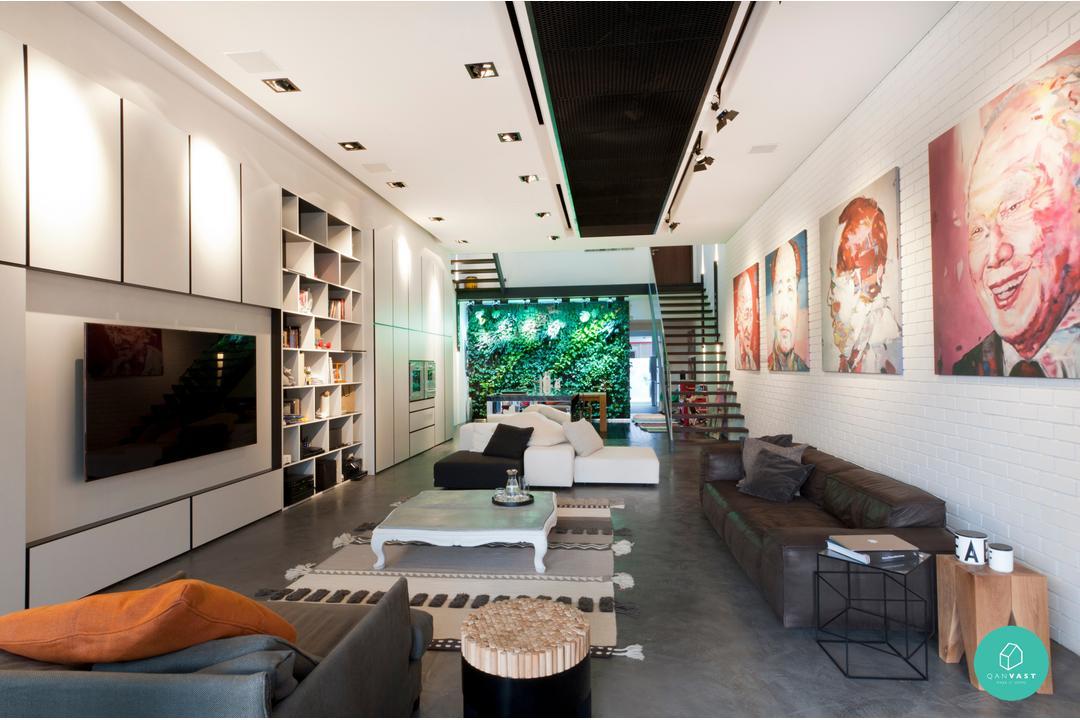 Architology Interiors - Jalan Chempedak - Living Room