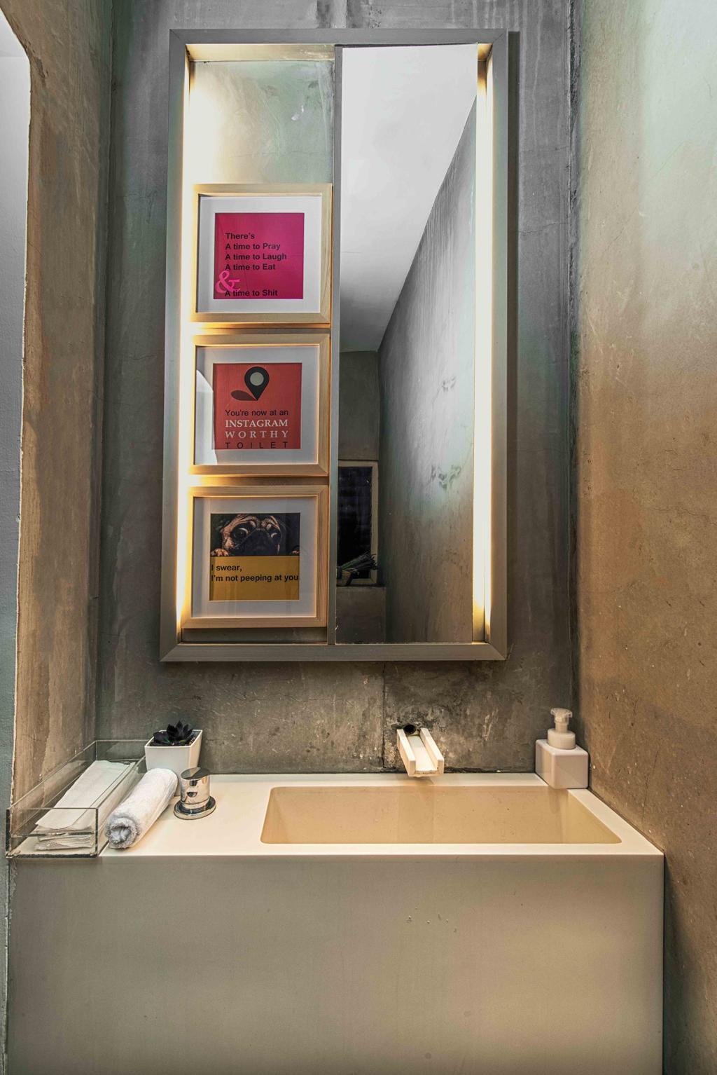Salon, Commercial, Interior Designer, Mr Shopper Studio, Eclectic, Scandinavian, Retro