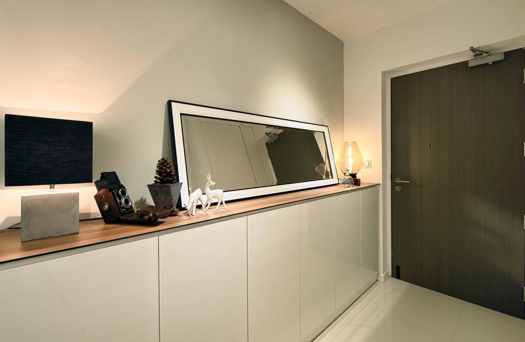 Contemporary, HDB, Living Room, Pasir Ris One, Interior Designer, Mr Shopper Studio, Modern, Electronics, Entertainment Center, Home Theater