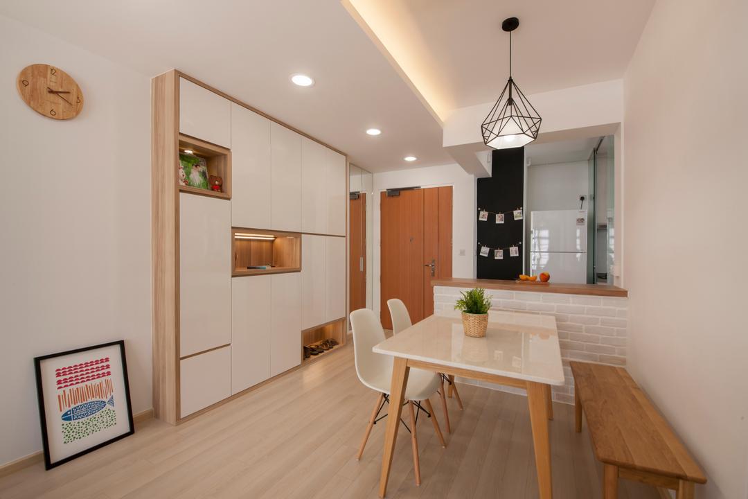Open Concept Kitchen Interior Design Singapore Interior Design Ideas