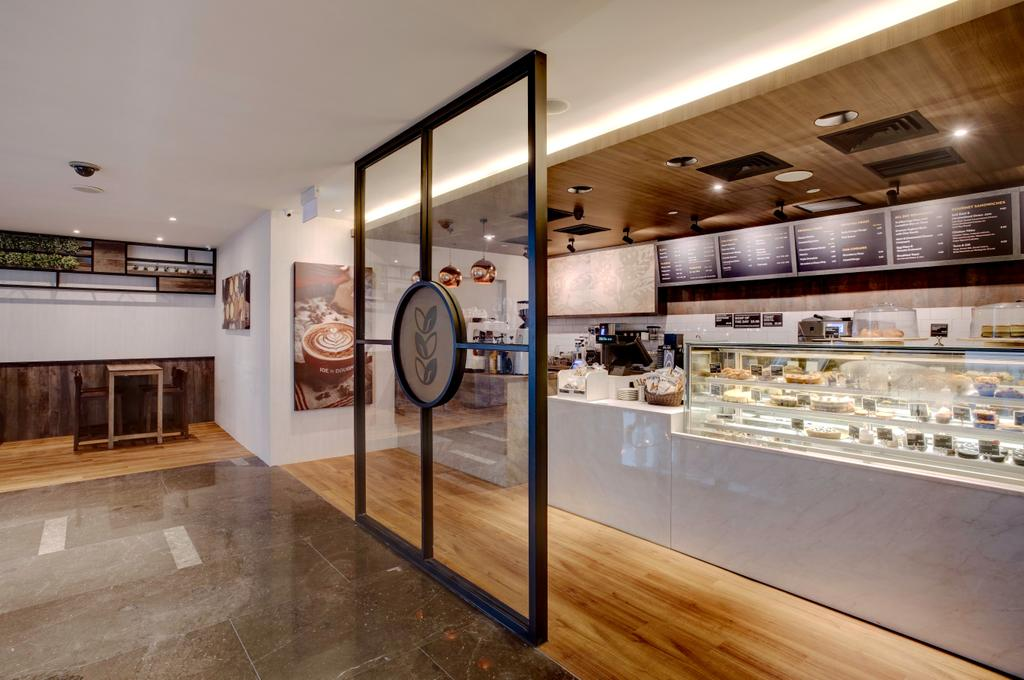 Joe & Dough (Capitol Tower), Commercial, Interior Designer, Liid Studio, Modern, Shopfront, Front, Entrance, Glass Interior, Glass Display, Merchandising, Skylight, Shop
