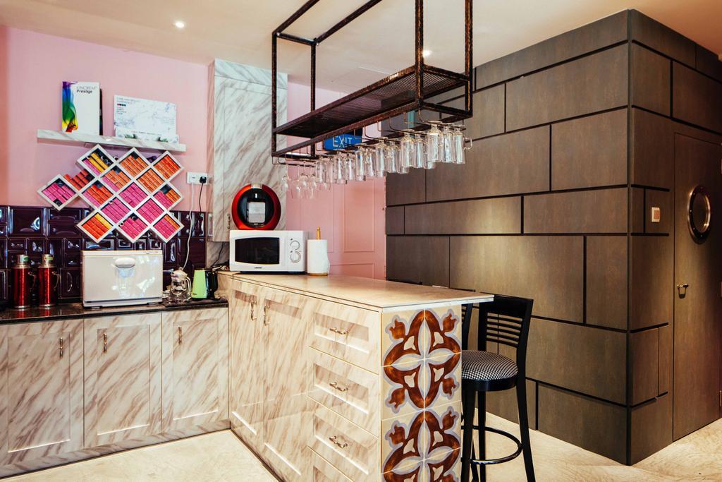 Hairhaus, Commercial, Interior Designer, Urban Habitat Design, Eclectic, Industrial, Chair, Furniture, Couch