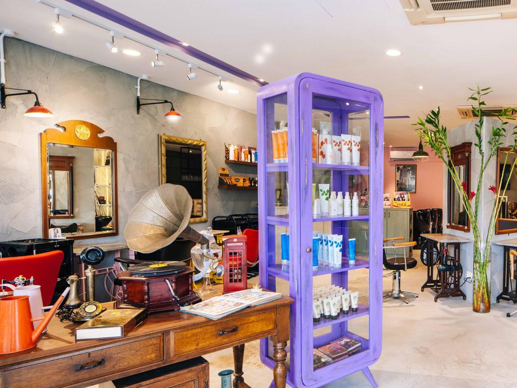 Hairhaus, Commercial, Interior Designer, Urban Habitat Design, Eclectic, Industrial, Flora, Jar, Plant, Potted Plant, Pottery, Vase, Indoors, Interior Design